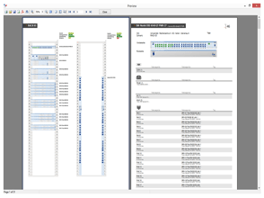 Druckfunktion Pathfinder Software