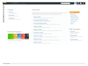 Startbildschirm Pathfinder Software