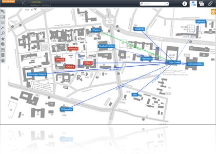CAD Import Netzwerkplan