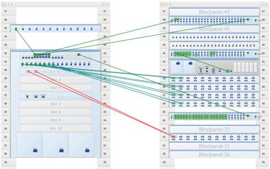 Patchen und Netzwerk visualisieren